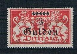 Danzig Michel Nr. 191 Postfrisch Mit Falz Geprüft - Danzig