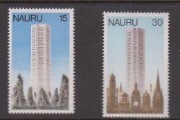 1976 NAURU Opening Nauru House Melbourne Set Of 2 MUH Stamps