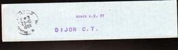 Collier à Sac De Meaux C.T.77- Pour Dijon C.T. - Documents De La Poste
