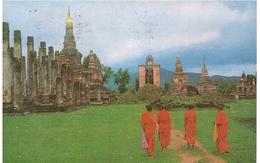 2 VAL X ITALIA CART. WAD MAHATHATU SUKOTHAI - Tailandia
