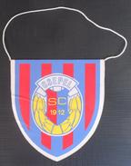 CSEPEL SPORT CLUB BUDAPEST  FOOTBALL CLUB, SOCCER / FUTBOL / CALCIO, OLD PENNANT, SPORTS FLAG - Uniformes Recordatorios & Misc