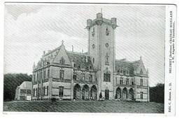 Meldert, Château Maillard à M. AUguste De Lantsheere, Edit. C. Baune A.19 - Imp. L. Van Der Aa  - 2 Scans - Hoegaarden