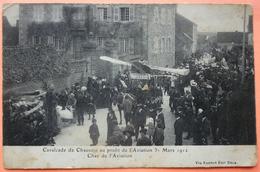 CARTE CAVALCADE CHAUSSIN AU PROFIT DE L' AVIATION 1912 - 39 - CHAR DE L' AVIATION - SCAN RECTO/VERSO -9 - Francia