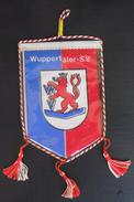 WUPPERTALER SV GERMANY  FOOTBALL CLUB, SOCCER / FUTBOL / CALCIO, OLD PENNANT, SPORTS FLAG - Uniformes Recordatorios & Misc