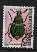 Burkina Faso 2002, 1500 Francs, Insect, Minr 1850, Vfu. Cv 25 Euro - Burkina Faso (1984-...)
