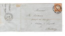 Deutsches Reich Strassburg 1873 Nach In Stad Produits Chimiques & Pharmaceutiques P  Woehrlin 423