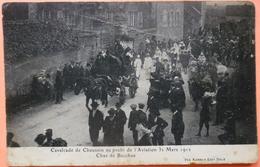 CARTE CAVALCADE CHAUSSIN AU PROFIT DE L' AVIATION 1912 - 39 - CHAR DE BACCHUS - SCAN RECTO/VERSO -9 - Francia