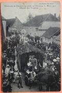 CARTE CAVALCADE CHAUSSIN AU PROFIT DE L' AVIATION 1912 - 39 - CHORALE DES TZIGANES - SCAN RECTO/VERSO -9 - Francia