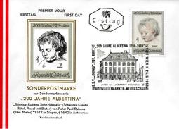AUTRICHE  FDC 1969  Tableaux  Nicolas Fils De Rubens