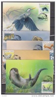 MAX Buzin Vogels En Dieren 10 Kaarten Volledig-Oiseaux Et Animaux 10 Cartes Complete 2015 - Maximum Cards