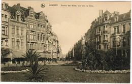 Leuven, Louvain, Avenue Des Alliés, Vue Vers La Gare (pk35162) - Leuven