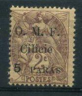 CILICIE(  POSTE ) Y&T N°  80  TIMBRE  NEUF  AVEC  TRACE  DE  CHARNIERE , A  VOIR . - Cilicie (1919-1921)