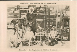 Birmanie - Mandalay - Les Orphelines à L' Atelier De Tissage - Soeurs Saint Joseph De L' Apparition - Postcards