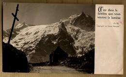 Image Pieuse Holy Card C'est Dans La Lumière Que Nous Voyons ... Ed La France Mariale - Paysage Montagne ... - Devotion Images