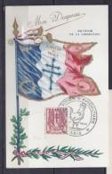 TP N° 672 SUR CP DE PARIS/3.5.45 - Marcophilie (Lettres)