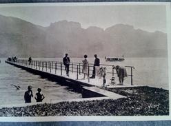 74 Annecy Et Son Lac Un Embarcadère - Annecy