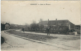 Marne : Crugny, Gare Et Moulin - Other Municipalities
