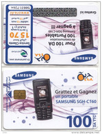 Algérie Télécarte Oria SAMSUNG Téléphone Mobile Neuve Sous Blister - Algérie