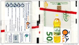 Algérie Télécarte Oria Alimentation, Huile, Lebensmittel, Öl, Prodotti Alimentari, Olio, Food, Oil