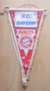 FC Bayern München  GERMANY  FOOTBALL CLUB, SOCCER / FUTBOL / CALCIO, OLD PENNANT, SPORTS FLAG - Uniformes Recordatorios & Misc