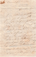 St SERVAN (35) 1849 - Jolie Lettre Affectueuse Sur Le Charme De La Région Et Des Bains De Mer - - Documenti Storici