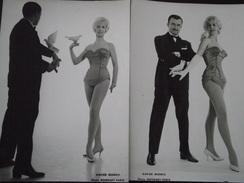 Xavier MORRIS, Mentaliste - SPECTACLE De CIRQUE - Lot De 2 Photographies - Vers 1950 - Piste Aux Etoiles - Colombe - Andere