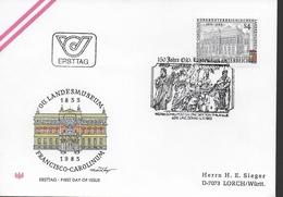 AUTRICHE FDC 1983 Musée A Linz