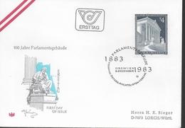 AUTRICHE FDC 1983 Parlement