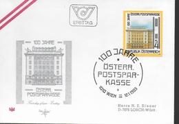 AUTRICHE FDC 1983 Caisse D Epargne De La Poste