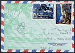 """Tableaux """"Poste Aérienne N° 55/57"""" Sur Lettre - Lettres & Documents"""