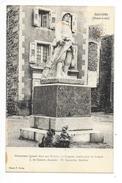 SAUGUES  (cpa 43)  Monument Aux Enfants De Saugues Morts Pour La France - ## RARE ## -   - L 1 - Saugues