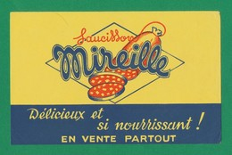 Buvard - Saucisson MIREILLE - Buvards, Protège-cahiers Illustrés