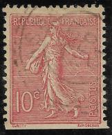 N° 129 Obl  Bon Centrage  Non Dentelé Sur 1 Coté