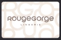 Carte Cadeau.   Gift Card.   ROUGE GORGE.  Lingerie Féminine. - Gift Cards