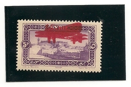 Syrie PA  N° 32 Avec  Double Surcharge , Charniére Ultra Légére * - Syria (1919-1945)