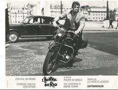 Petites Affiches De Cinéma - L'Homme De Rio Avec Françoise Dorléac, Jean Paul Belmondo En Moto..... - Affiches