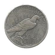 Monnaie , Reproduccion , Etats Unis , One Dollar , Peace , 1929 , 2 Scans , Frais Fr : 1.55€ - Émissions Fédérales