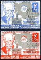BE  Marcophilie  --  Obl. Mécanique / Machine   --  EXPO 58   / Europa 1958  --   Fridtjof Nansen   --  Très Rare...