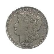 Monnaie , Reproduccion , Etats Unis , One Dollar , E. PLURIBUS UNUM , 1927 , 2 Scans , Frais Fr : 1.55€ - Émissions Fédérales