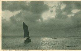 Helgoland - Abendstimmung 1917 (000168) - Helgoland