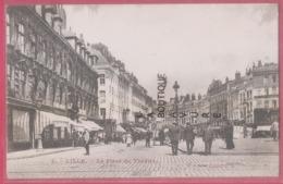 59 - LILLE---La Place Du Theatre--animé - Lille