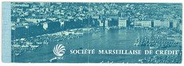 Chéquier Société Marseillaise De Crédit , S.M.C. ( Marseille Vieux Port ) , Bagnols Sur Cèze - Chèques & Chèques De Voyage