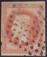 YT10 Napoleon 80c - Losange Points