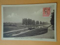NEUILLY Sur MARNE  (Seine Saint Denis) -- Ecluse Et Canal De Chelles - Péniche Dans L'Ecluse - Neuilly Sur Marne