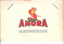 BUVARD.  MOUTARDE  DE DIJON   AMORA - Alimentare