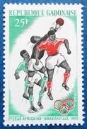 A Vends Timbre Neuf** Du Gabon, N°182 De 1965 : I° Jeux Africains