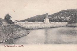 Cp , BELGIQUE , GILEPPE , Le Barrage - Gileppe (Barrage)