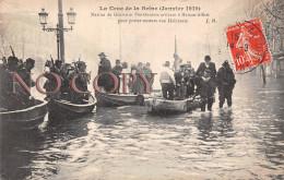 94 - Maisons Alfort - La Crue De La Seine Janvier 1910 - Marine De Guerre Et Pontonniers Secours Aux Habitants - Maisons Alfort