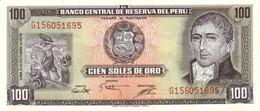 PERU 100 SOLES DE ORO 1975 P-108 UNC  [PE108] - Pérou