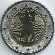 Duitsland 2008  2 Euro Adler    Letter D   Atelier D      UNC Uit De Rol  UNC Du Rouleaux - Deutschland